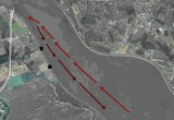 Trasa nedovoljene plovbe